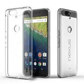 Huawei Nexus 6P silikon gjennomsiktig