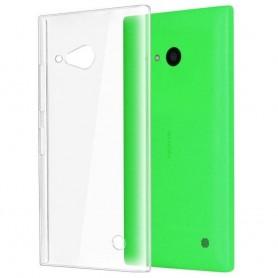 Nokia Lumia 730/735 -silikonin on oltava läpinäkyvä