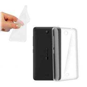 Microsoft Lumia 430 -silikonin on oltava läpinäkyvää