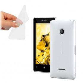 Microsoft Lumia 435 silikon må være gjennomsiktig
