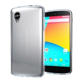 LG Nexus 5 -silikonin on oltava läpinäkyvä