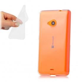 Microsoft Lumia 535 -silikonin on oltava läpinäkyvää