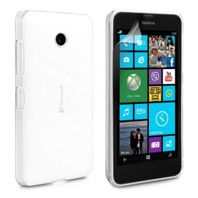 Microsoft Lumia 532 silikon skal transparent