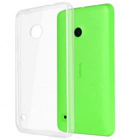 Nokia Lumia 530 silikon må være gjennomsiktig