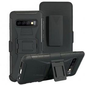 Iskunkestävä kuori kotelolla 3i1 Samsung Galaxy S10 (SM-G973F)