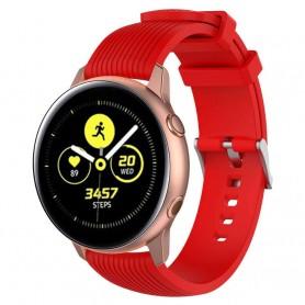 Sport Armbånd RIB Samsung Galaxy Watch Active - Rød