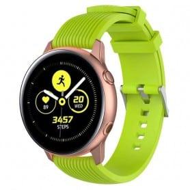 Sport Armbånd RIB Samsung Galaxy Watch Active - Lime