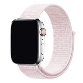 Apple Watch 38mm Nylon Armband - Pearl Pink