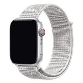 Apple Watch 38mm Nylon Armband - Summit White