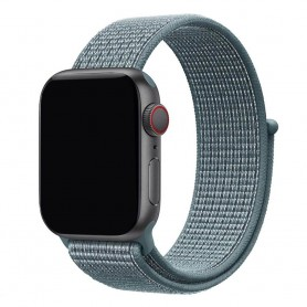 Apple Watch 38mm Nylon Armband - Celestial Teal