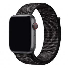 Apple Watch 42mm Nylon Armband - Black Nike