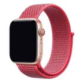 Apple Watch 42mm Nylon Armband - Hibiscus