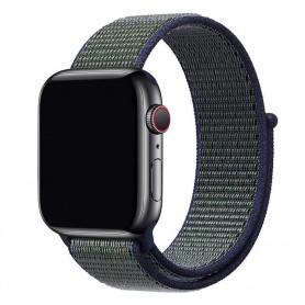 Apple Watch 42mm Nylon Armband - Midnight Fog