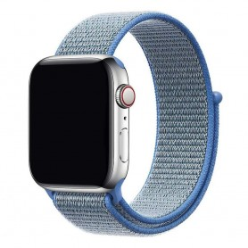 Apple Watch 42mm Nylon Armband - Tahoe Blue
