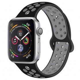 EBN Sport Armband Apple Watch 4 (44) Svart/grå