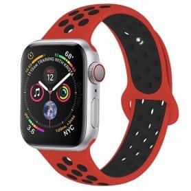EBN Sport Armband Apple Watch 4 (44) - Röd/svart
