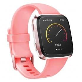 Sport Armband till Fitbit Versa / Versa Lite - Apricot