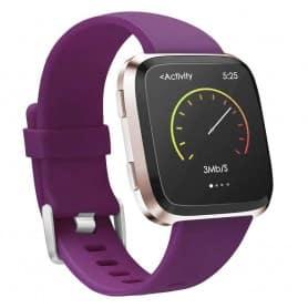 Sport Armband till Fitbit Versa / Versa Lite - Plum