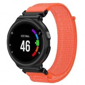 Nylon armbånd Garmin Forerunner 220/230/235/620/630 / 735XT -Orange