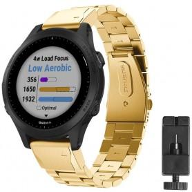 Armband rostfritt stål GARMIN Forerunner 945 - Guld