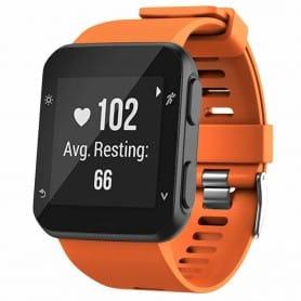 Sport Armband Silikon GARMIN Forerunner 35 - Orange
