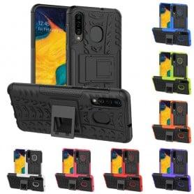 Slagsikret mobilskall med stativ Samsung Galaxy A30 (SM-A305F)