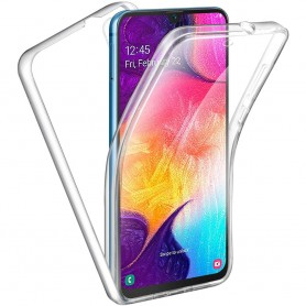 360 heltäckande silikon skal Samsung Galaxy A70 (SM-A705F)
