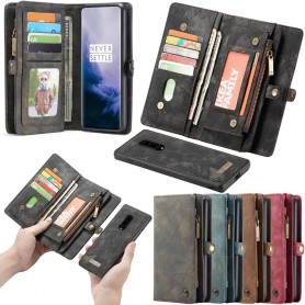 Multi Wallet CaseMe 11-kort OnePlus 7 PRO mobil lommebokveske