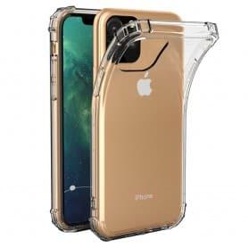 """Mobilt Shockproof Apple iPhone XI 5.8 """"2019 myk gjennomsiktig"""