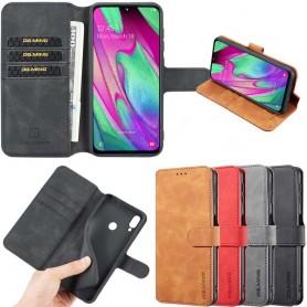 DG-Ming mobilplånbok 3-kort Samsung Galaxy A40 (SM-A405F)