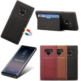 Denior Läderskal med kortfack Samsung Galaxy Note 9 (SM-N960F)