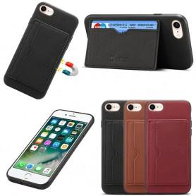 """Denior nahkakotelo, korttipaikka Apple iPhone 7/8 (4.7 """")"""