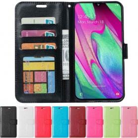 Mobilplånbok 3-kort Samsung Galaxy A40 (SM-A405F)