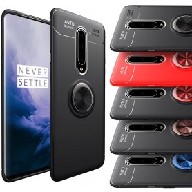 Slim Ring Case OnePlus 7 Pro mobilskal skydd silikon