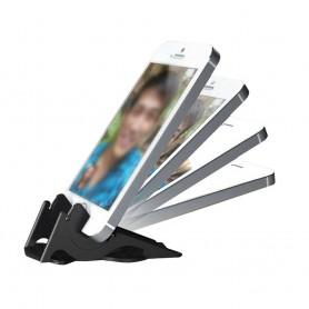 Bærbart mobilstativ - sort