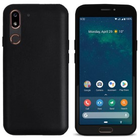 Silikon skal Doro 8080 - Svart - mobilskal CaseOnline
