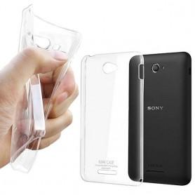 Sony Xperia E4 silikoni läpinäkyvä
