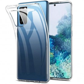 Silikonikotelo läpinäkyvä Samsung Galaxy S20 Plus (SM-G986F)