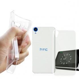 HTC Desire 820 Silikon Transparent
