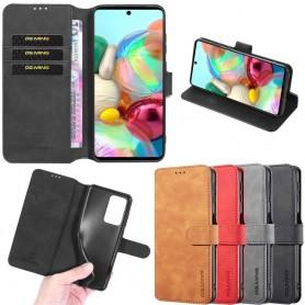 DG-Ming mobilplånbok 3-kort Samsung Galaxy A71 (SM-A715F)