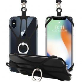 Mobilbilhållare SuperGrip - Svart