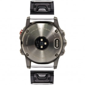 EasyFit Adapter Garmin Fenix 6X / 6X Pro - Svart