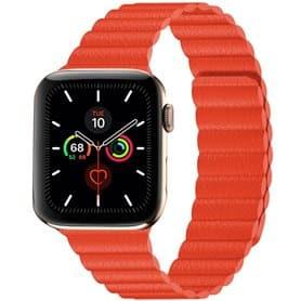 Apple Watch 5 (44mm) Leather loop band - Papaya
