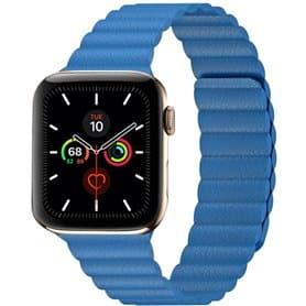 Apple Watch 5 (44mm) Leather loop band - Tahoe Blue