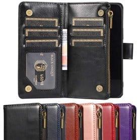 "DoubleFlip Wallet Zipper 9-Card Apple iPhone 12 Pro Max (6.7"")"
