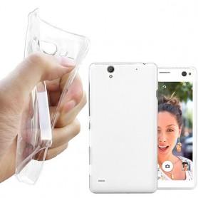 Xperia C4 silikon skal transparent