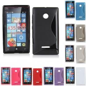 S Line silikonskall Lumia 435, 532