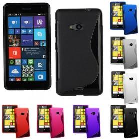 S Line silikonskall Lumia 535