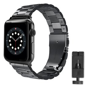 Armband Stainless Steel Apple Watch 6 (40mm) - Black