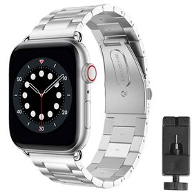 Armband Stainless Steel Apple Watch 6 (40mm) - Silver